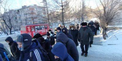 Шествие в Хабаровске 26.12